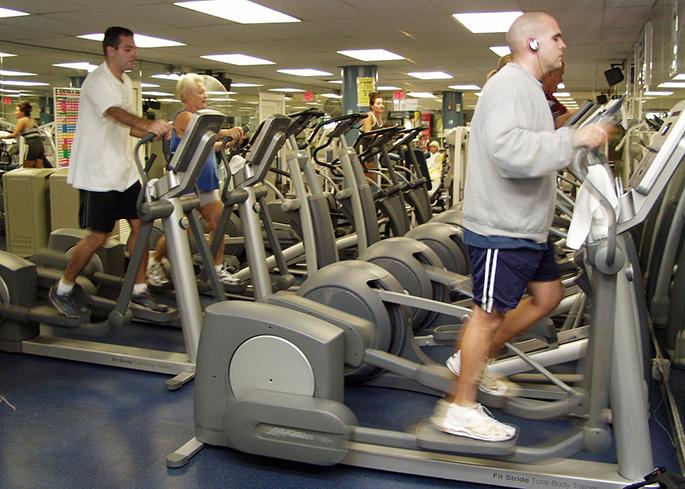 Elliptical Machine in Gym